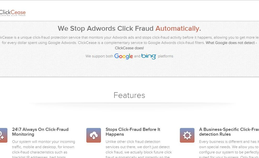 Click Cease – Click Fraud Blocking Software