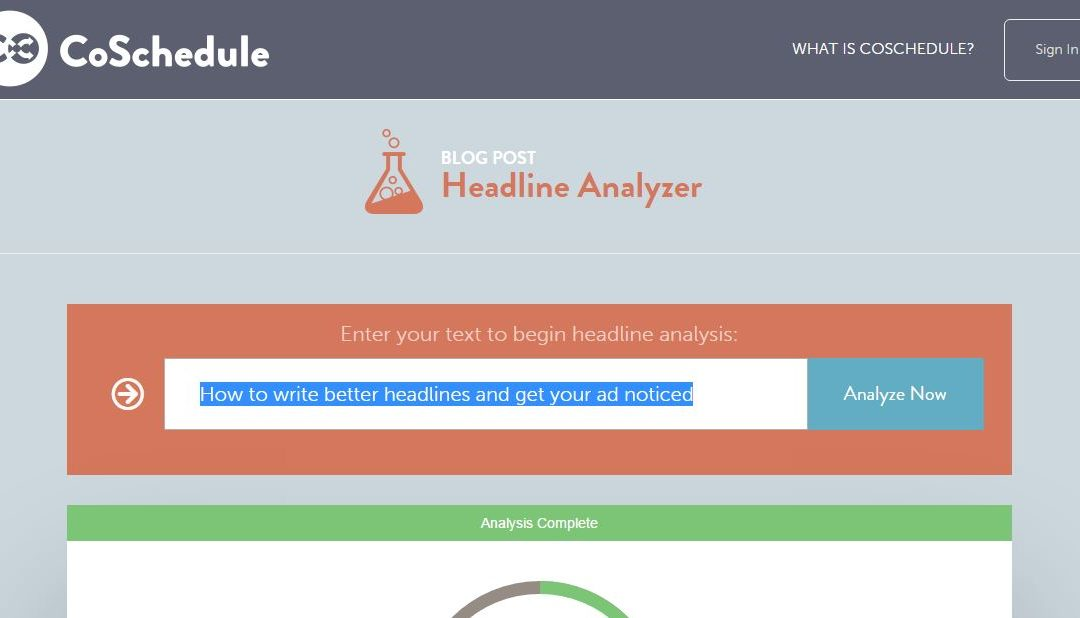 How to write better headlines and get your ad noticed